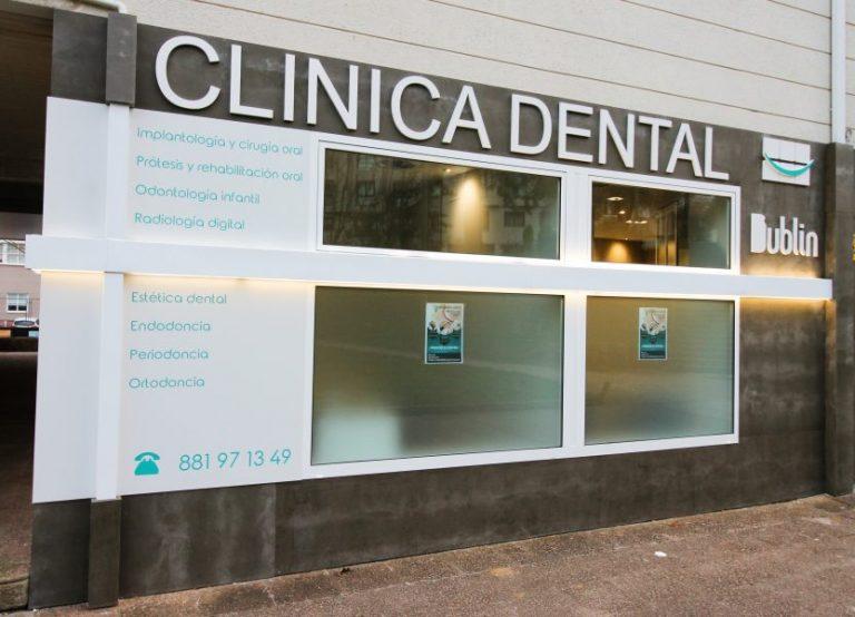 Fachada clínica dental
